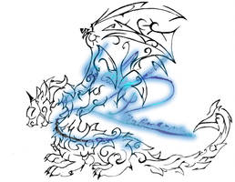 Dragon Symbol by Unknowncreation