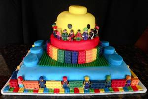 Lego Cake by Pixie-Lyrique