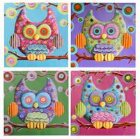 Owls by Pixie-Lyrique