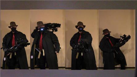 Dreamshade cosplay with gun Problem Solved by gentleEvan
