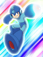 Megaman for Kaigetsudo by RinkuDohero