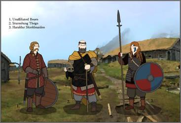 A World of Warriors - Sjosuntr Warriors by Liquid-Nitrogen