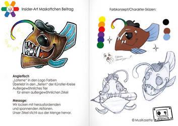 Anglerfisch Maskottchen by MusiKasette