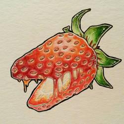 Monsterfruit #1 Strawberry by MusiKasette