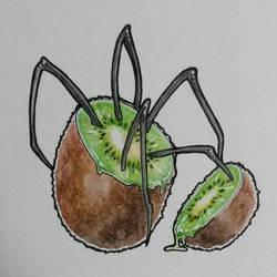 Monsterfruit #5 Kiwi by MusiKasette