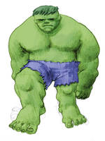 hulk baby steps by laseraw