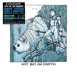 last boy on earth print by laseraw
