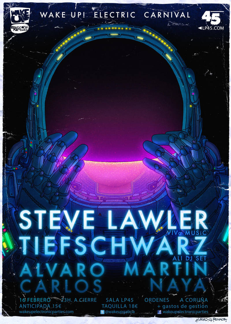 STEVE LAWLER poster by laseraw
