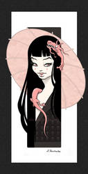Black Cherry by aleksandracupcake