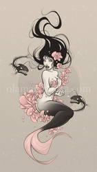 Sea Flower by aleksandracupcake