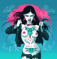 Werewolf Girl by aleksandracupcake