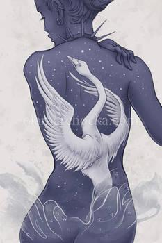 Wild Swan by aleksandracupcake