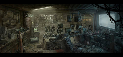 Geek Hideout by BMacSmith