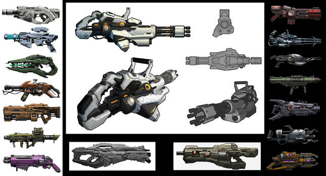 Guns by BMacSmith