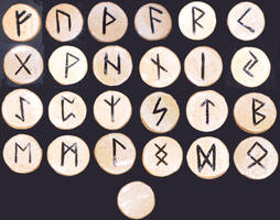 Rune Stones by aberrantceramics