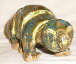 Small Tardigrade Sculpture by aberrantceramics