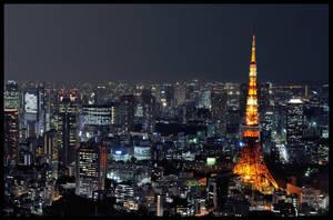 Tokyo By Night by Gajderowicz