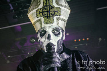Ghost - Papa Emeritus III by Infernalord