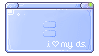 i love my DS stamp (blue version) by RRRAI