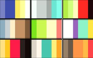color palettes 5 by RRRAI