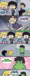 Science Bros Ask 14 by ecokitty