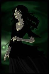 HP - Bellatrix Lestranges by Nade