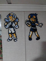 Pokegals on my wall  by Tibby-san