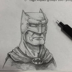 Batman of the Board by reverendwyrm