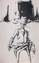 Funky Cowboy by reverendwyrm