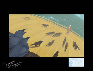 Wolves on an Ark by sjbernhisel