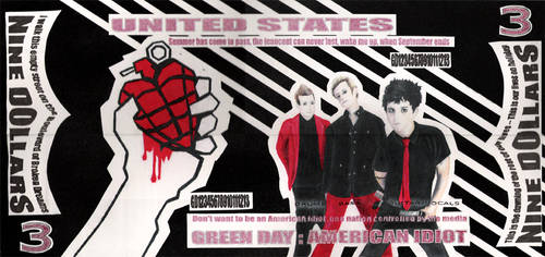 GREENDAY:American Idiot Dolla' by sjbernhisel