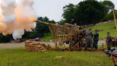 Flak 88 in Action by zee-doktor-is-in