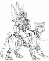 Mechanism tiger rider by WolfLSI