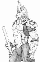 Future warrior by WolfLSI
