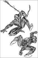sketchbook spidey by halo-zero