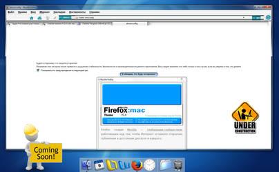 Firefox 32 IE5 Mac Theme (alpha) by Iceler