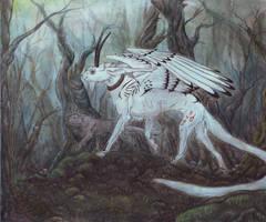 Dark Forest Stroll by ElementalSpirits