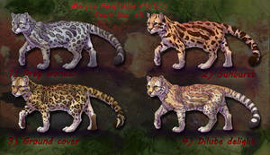 Margay/Ocelot Adoptable Sale by ElementalSpirits