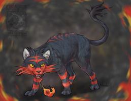 Fireball Litten by ElementalSpirits