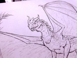 Dragon Ink by ElementalSpirits