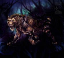Dark Encounter by ElementalSpirits