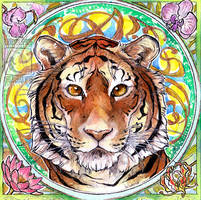 Tiger by ElementalSpirits