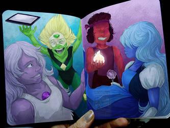 Crystal Gems by ElementalSpirits