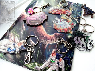 New Charms! by ElementalSpirits