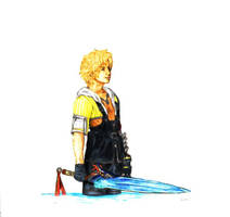 Tidus FFX colored by Ridotto