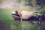 Sunday Afternoon on the Lake by boriszaretsky