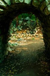 . tunnel arc . by Tikal-SH