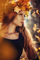 Priestess of Autumn II by Tikal-SH