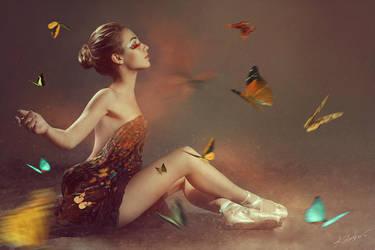 Lady Butterfly III by Tikal-SH