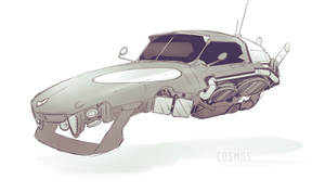 Cosmos - Racer 03 by ned-rogers